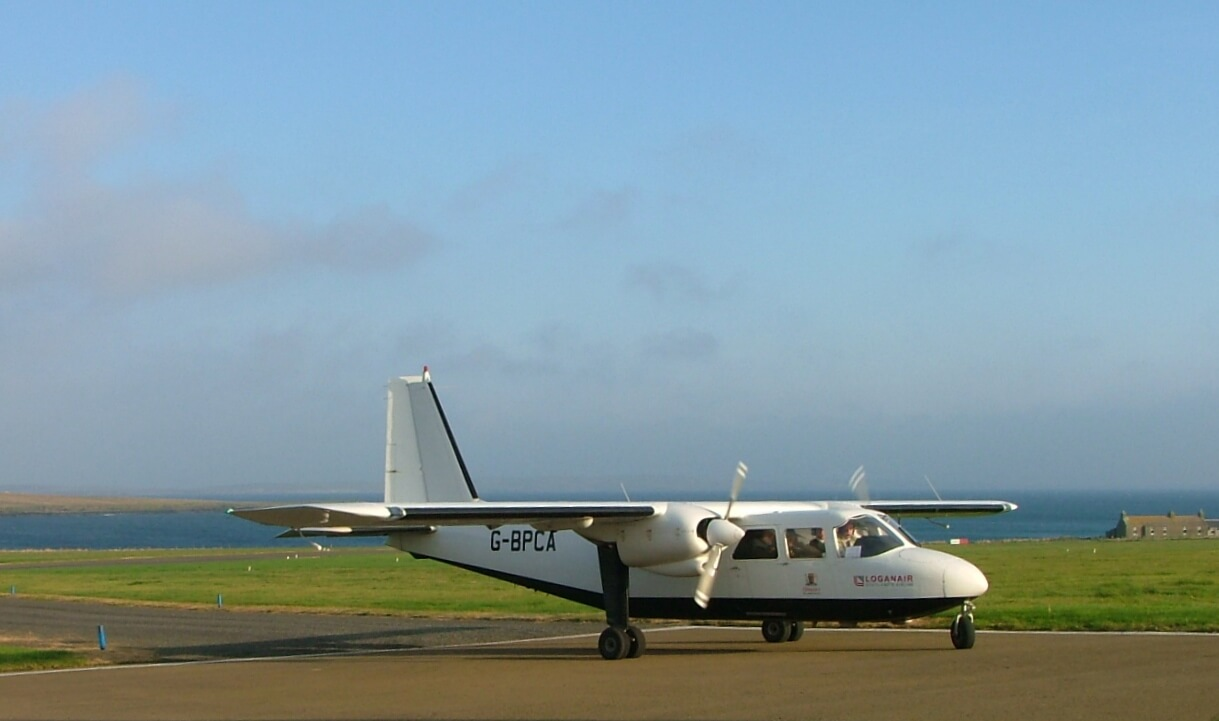 Getting here with Loganair